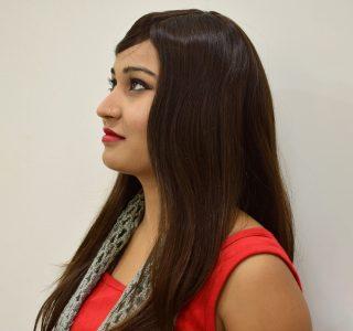 Monofilament top Women's Wig