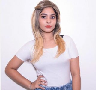 Blonde Girl's Wig